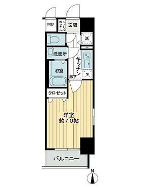 中古マンション-大阪市浪速区敷津西1丁目 間取り