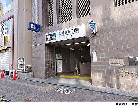 マンション(建物全部)-新宿区西新宿4丁目 西新宿五丁目駅(現地まで160m)