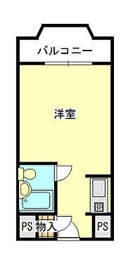 マンション(建物一部)-福岡市中央区天神5丁目 間取り