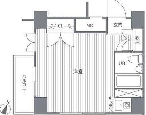 マンション(建物一部)-世田谷区上馬4丁目 間取図