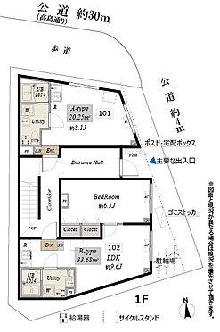 マンション(建物全部)-板橋区坂下2丁目 1階間取図