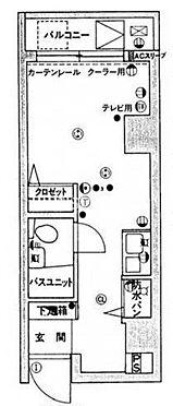 区分マンション-江東区亀戸7丁目 間取り
