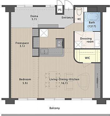 中古マンション-名古屋市守山区金屋2丁目 南向き・高層階の為日当たり・通風・眺望良好!