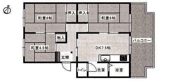 マンション(建物一部)-姫路市大津区天満 間取り