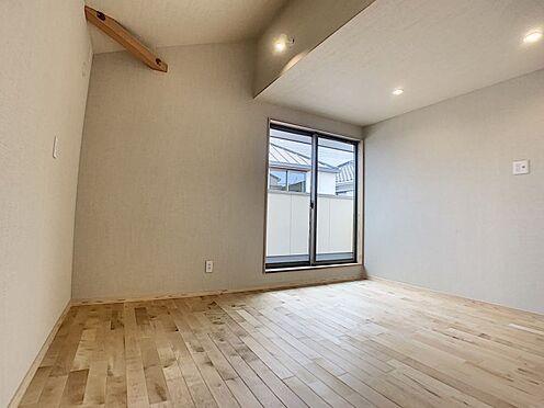 戸建賃貸-安城市大山町1丁目 約7.5帖の主寝室としても使用できる洋室