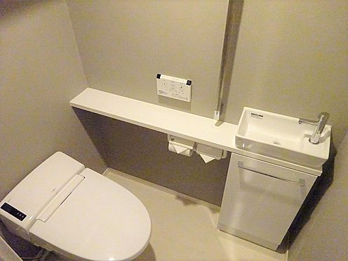 中古マンション-江東区有明2丁目 手洗付トイレ