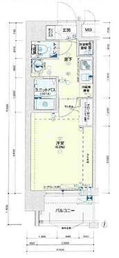 区分マンション-大阪市東淀川区東中島2丁目 間取り