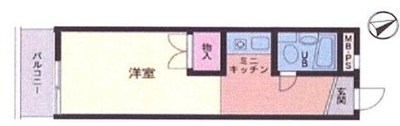区分マンション-横浜市神奈川区斎藤分町 間取り