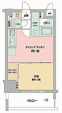 マンション(建物一部)-大阪市都島区中野町2丁目 間取り