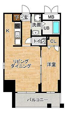 マンション(建物一部)-大阪市西区靱本町1丁目 間取り