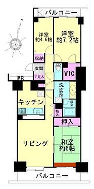 中古マンション-仙台市泉区八乙女中央3丁目 間取り