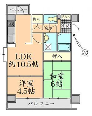 マンション(建物一部)-仙台市泉区虹の丘1丁目 間取り図