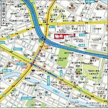 店舗・事務所・その他-江東区深川2丁目 地図
