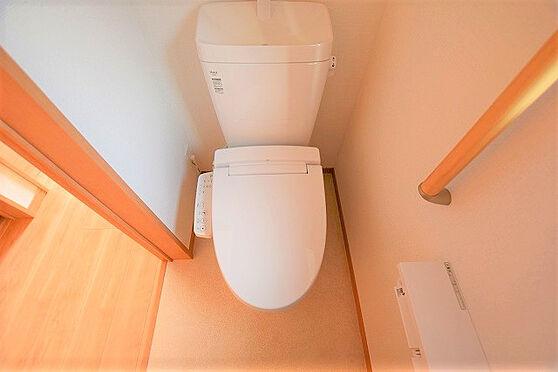 新築一戸建て-名取市上余田字市坪 トイレ
