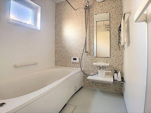 新築一戸建て-西尾市今川町一本松 浴室乾燥機付なので、雨の日も気にせずにお洗濯ができます。
