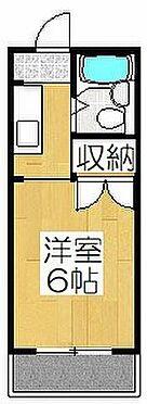 アパート-京都市中京区聚楽廻西町 間取り