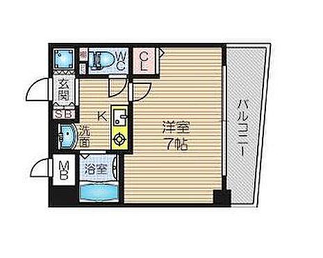 マンション(建物一部)-大阪市北区中崎1丁目 間取り