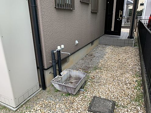 中古一戸建て-豊田市前林町桜田 外には水道もあるので、お家で洗車をする際にも便利です。