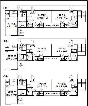 アパート-江戸川区中央2丁目 間取り