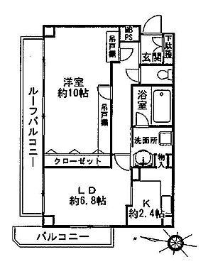 中古マンション-葛飾区西亀有3丁目 間取り