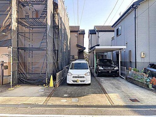 中古一戸建て-岡崎市上地1丁目 駐車スペースは二台確保されています☆