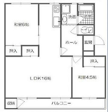 マンション(建物一部)-姫路市青山西2丁目 間取り