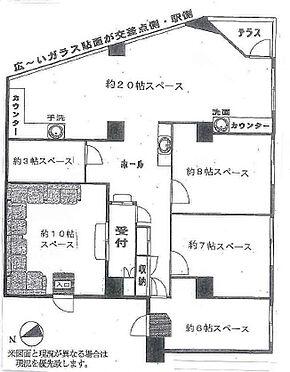 店舗事務所(建物一部)-千葉市中央区新千葉3丁目 間取り