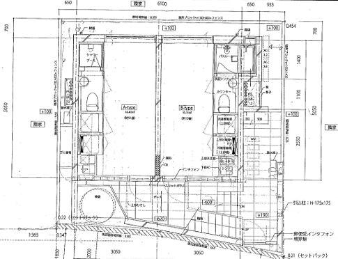 マンション(建物全部)-新宿区中落合2丁目 1階・2階同面積・1R×4室