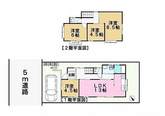アパート-千葉市花見川区こてはし台2丁目 間取り