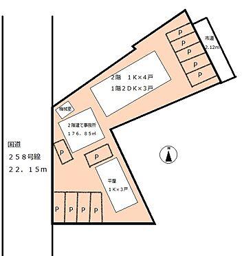 アパート-大垣市浅草1丁目 間取り