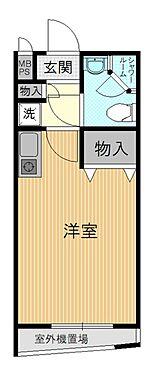 マンション(建物一部)-京都市中京区田中町 ふたつの収納スペースを確保