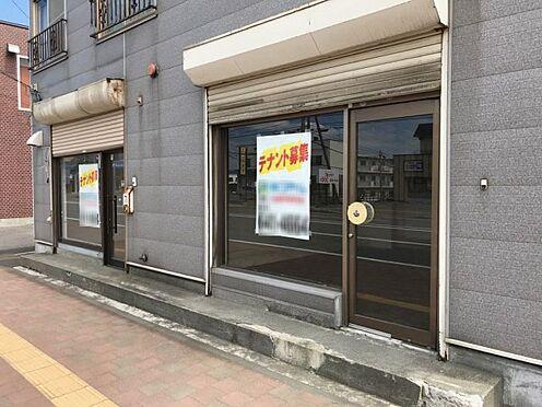 アパート-札幌市手稲区前田九条10丁目 1階店舗部分入口