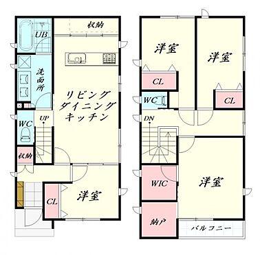 新築一戸建て-仙台市泉区将監12丁目 間取り