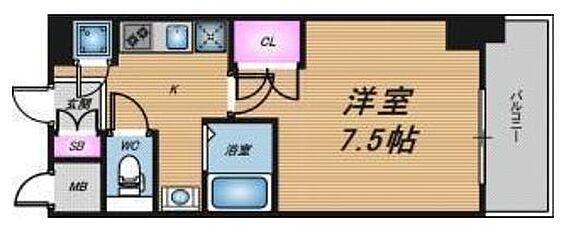 マンション(建物一部)-大阪市北区南森町2丁目 人気セパレートタイプ