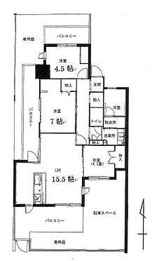 マンション(建物一部)-北九州市八幡西区紅梅2丁目 間取り