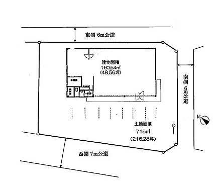 店舗(建物一部)-上尾市錦町 間取り