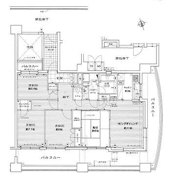 マンション(建物一部)-北上市花園町1丁目 間取り