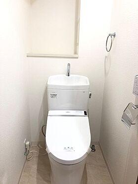 中古マンション-越谷市蒲生東町 トイレ