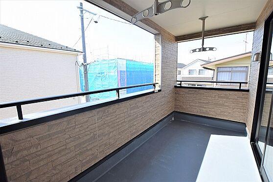 新築一戸建て-仙台市若林区上飯田2丁目 バルコニー