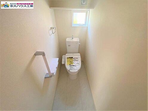 新築一戸建て-仙台市太白区袋原4丁目 トイレ
