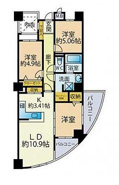 マンション(建物一部)-北九州市八幡西区瀬板1丁目 間取り