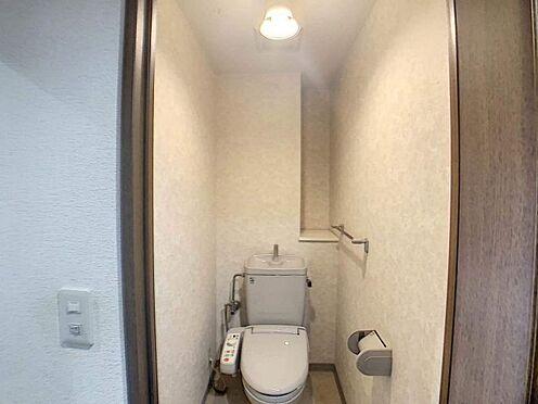 中古マンション-名古屋市天白区島田1丁目 清潔感のあるトイレです。