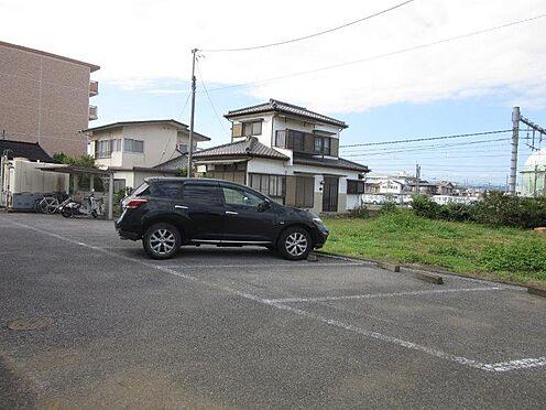 アパート-佐野市久保町 敷地内駐車場。