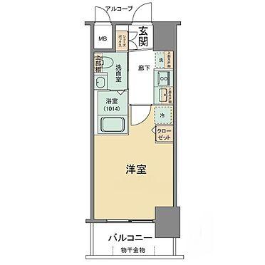 マンション(建物一部)-神戸市中央区日暮通3丁目 2点セパレートで清潔感あり。他にも室内に洗濯機置き場もあるので便利です。