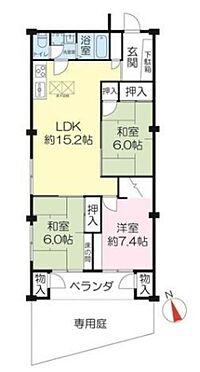 マンション(建物一部)-神戸市東灘区住吉山手2丁目 専用庭付き