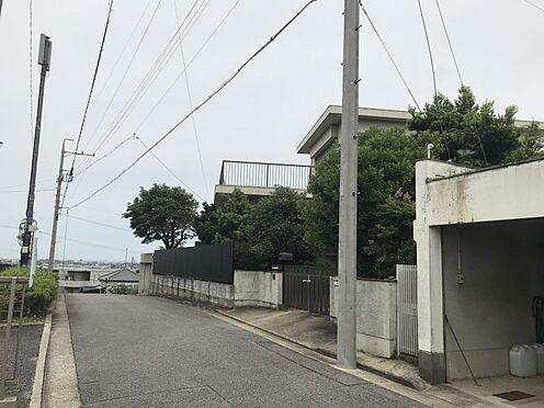 土地-岡崎市伊賀町字4丁目 前面道路が広々としているので駐車もしやすいですね!