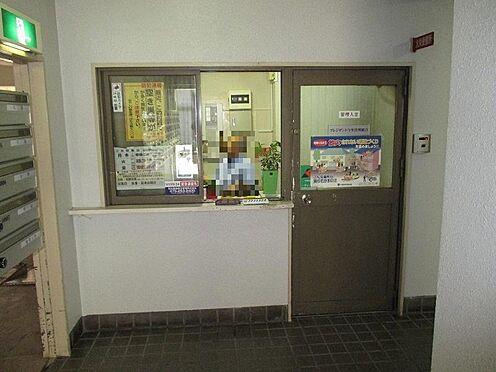 中古マンション-大阪市東成区大今里西2丁目 常駐の管理人室です