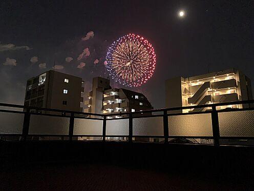 ビル(建物全部)-大阪市淀川区十三元今里1丁目 バルコニーからの眺望 淀川花火大会