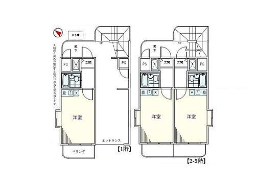 マンション(建物全部)-座間市相模が丘6丁目 間取り