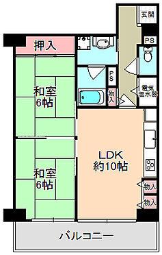 マンション(建物一部)-東大阪市菱屋西6丁目 間取り